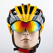PROMEND Unisex Bicicleta Casco 27 Ventoleras Ciclismo Ciclismo de Montaña Ciclismo de Pista Ciclismo Recreacional Ciclismo L: 58-61CM