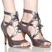 Zapatos de baile (Gris / Otros) - Danza latina - No Personalizable - Tacón de estilete