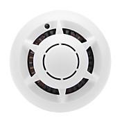cámaras wifi humo sistema p2p inalámbrica a la red IP de la cámara del UFO dvr detector de grabador de vídeo digital de seguridad de levas