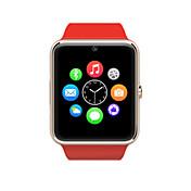 nuevo reloj inteligente gt08 reloj teléfono celular con despertador v3.0 bluetooth / micro-letras / cronómetro / ordenador
