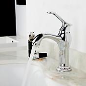 一つの穴単一のハンドルの浴室のシンクの蛇口