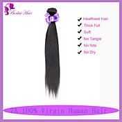 Tejidos Humanos Cabello Cabello Malayo Recto 6 Meses 1 Pieza los tejidos de pelo