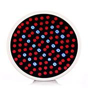 6ワットE26 / E27が点灯106 SMD(86red + 20blue)3528 800から850ルーメン赤、青AC100-240交流を成長導い85から265 V 1個