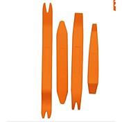 iztoss 4ks automatické dveře klip panel odstranění výbava sady nástrojů pro automobilový palubní rádio audio instalační nástroj vypáčit
