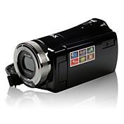 "2.7 ""TFT-LCDスクリーンCMOSセンサ顔検出手ぶれ補正720pのordro®DV-108デジタルビデオカメラ"