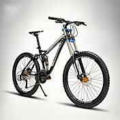 マウンテンバイク サイクリング 24スピード 26 inch/700CC EF-51-8 ダブルディスクブレーキ サスペンションフォーク フルサスペンション ソフテイルフレーム アルミニウム