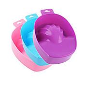 1stk nail art håndvask remover suge skål DIY salon negle spabad behandling manicure værktøjer (farve sende ved tilfældig)