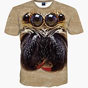 メンズ カジュアル/普段着 Tシャツ プリント コットン 半袖