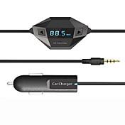 bluetoothのFMトランスミッター、ユニバーサルワイヤレスFMトランスミッター/ mp3プレーヤー/車の充電器