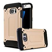 のために Samsung Galaxy S7 Edge 耐衝撃 / スタンド付き ケース バックカバー ケース 鎧タフケース PC Samsung S7 edge / S7