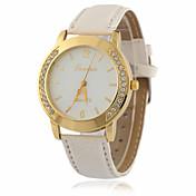 Dame ' Modni sat Ručni satovi s mehanizmom za navijanje Simulacija Dijamant Ručni sat Kvarc imitacija Diamond / PU GrupaVintage Cool