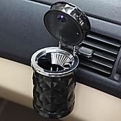 autopříslušenství přenosný LED auto popelník vysoce kvalitní univerzální držák válec auto domácí kancelář