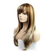 Mujer Pelucas sintéticas Sin Tapa Largo Liso Liso Natural # 30 Las pelucas del traje