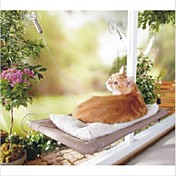 Gato Camas Mascotas Colchonetas y Cojines Plegable Transparente Tejido