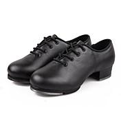 Zapatos de baile(Negro) -Claqué-No Personalizables-Tacón Bajo
