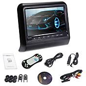 新しいsytle 9「FMトランスミッター/ IR / USB / SD /ワイヤレスゲームとヘッドレストスロットイン車のDVDプレーヤー(1枚)