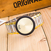 Mujer Reloj de Vestir Cuarzo Aleación Banda Plata