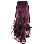 zlaté délka 50 cm továrna přímý prodej Typ bind lokny přesličky vlasy cop (barva bug)