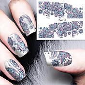 1 Neglekunst Klistermærke Vandoverførende decals Makeup Kosmetik Neglekunst Design