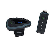 v8 apoyo completo interfono dúplex exterior situada a 5 personas que viajan intercomunicador del casco intercomunicador contestador