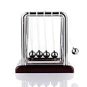 ミニデスクトップニュートンのクレードルクラシックニュートンクレードルバランスボール科学心理学のパズルデスクのおもちゃ