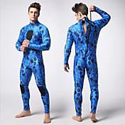 MYLEDI Hombre 3mm Drysuits Impermeable Mantiene abrigado Listo para vestir Cremallera YKK Neopreno Traje de buceo Manga LargaTrajes de