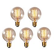 クリニークG95 E27 40ワットヴィンテージエジソン電球レトロランプ白熱電球(220-240V)