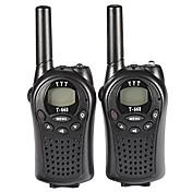 t-668 PMR Walkie Talkie pro děti mini kapesní handheld PMR vysílacích a přijímacích 5 km rozmezí 8channels dobrou hru hračky (1pair)