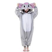 Kigurumi Pijamas nueva Cosplay® Elefante Leotardo/Pijama Mono Festival/Celebración Ropa de Noche de los Animales Halloween Gris Un Color