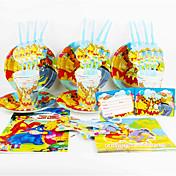 Peter Plys 92pcs fødselsdagsfest dekorationer børn evnent part forsyninger party dekoration 12 mennesker bruger