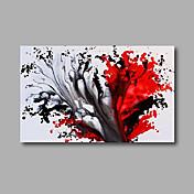 手描きの 抽象画 / 風景 油彩画,Modern 1枚 キャンバス ハング塗装油絵 For ホームデコレーション