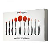 Lightinthebox® 10 Sistemas de cepillo Pelo Sintético Profesional / Cobertura completa Plastic Labio / Rostro / Ojo Otros