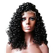 Kvinder Blondeparykker af menneskehår Menneskehår Helblonde Lågløs Helblonder uden lim Halvblonder uden lim 130% 150% Massefylde Med