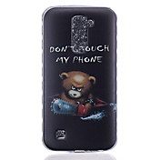 のために LGケース パターン ケース バックカバー ケース カトゥーン ソフト TPU LG LG K10 / LG K8 / LG K7 / LG K4 / LG G5 / LG G4 / LG G3