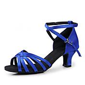 Zapatos de baile Danza latina/Salón de Baile - No Personalizable - Tacón grueso