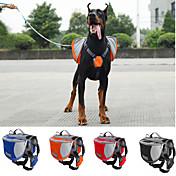 Pes přenosné a cestovní hrabice / psí smečky Domácí mazlíčci Nosiče Voděodolný / Přenosný Červená / Černá / Modrá / Oranžová Nylon