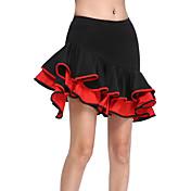 ラテンダンス スカート 女性用 訓練 ビスコース ナチュラルウエスト
