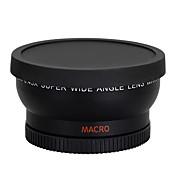 58mm 0.45X lente gran angular macro para cañón 350d / 400d / 450d / 500d / 1000d / 550D / 600D / 1100D cámara DSLR