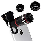 フィッシュアイ広角マイクロabout4in1詳細10倍望遠レンズカメラのFR iphone 6 6Sプラス5秒