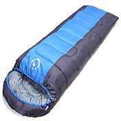 Bolsa de dormir Saco Mummy Sencilla 10 Plumón 1000g 180X30 Senderismo Camping Viaje Al Aire Libre InteriorResistente a la lluvia Plegable