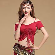 Břišní tanec Vrchní část oděvu Dámské Trénink Modální Jeden díl Krátké rukávy horní a dolní část) 49  51
