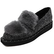 MujerOthers-Zapatos de taco bajo y Slip-Ons-Exterior-Semicuero-Negro / Gris
