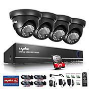 内蔵の1TB HDDsannce®720pの屋外IRのホームセキュリティカメラ1080n 4chの各HD DVRのCCTVシステム