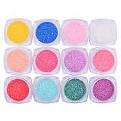 12boxs Kits de decoración de uñas Nail Kit de herramienta de la manicura del arte maquillaje cosmético Uña Arte