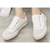 MujerConfort-Zapatillas de deporte-Casual-Cuero-Negro / Blanco