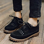 MujerOthers-Oxfords-Casual-Ante-Negro / Beige