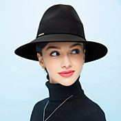 Mujer Sombrero Playero Vintage / Casual-Primavera / Otoño / Invierno-Lana