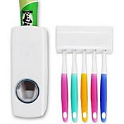 dispensador de pasta de dientes automático w titular / cepillo de dientes