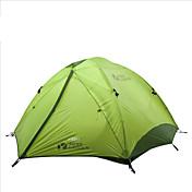 MOBI GARDEN® 3-4人 テント ダブル 自動テント 1つのルーム キャンプテント オックスフォード 防水 通気性 抗紫外線 防雨 防風性 保温 超軽量(UL) 折り畳み式 携帯式-ハイキング キャンピング 旅行 屋外