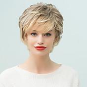 女性のための有病率は短い自然なウェーブ人毛オンブルのかつら